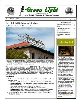 RGM&HS Green Light Newsletter Issue 05-2019