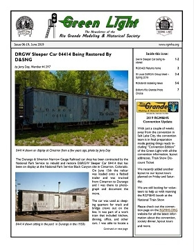 RGM&HS Green Light Newsletter Issue 06-2019